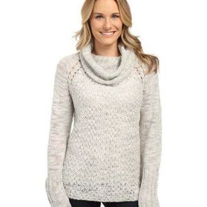 Sanctuary Womens New Wool Blend Turtleneck Sweater